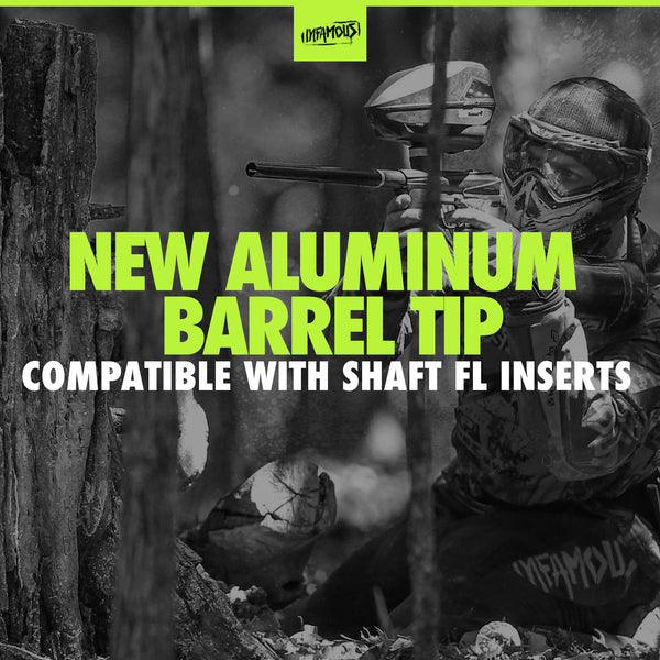 Aluminum Barrel Tip Compatible with Shaft FL Barrel Inserts