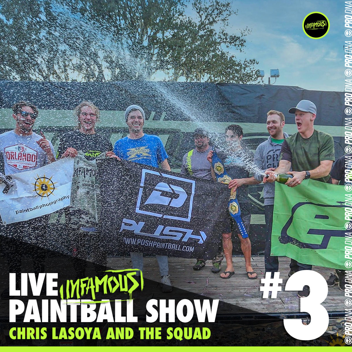 Infamous Live Paintball Show #3