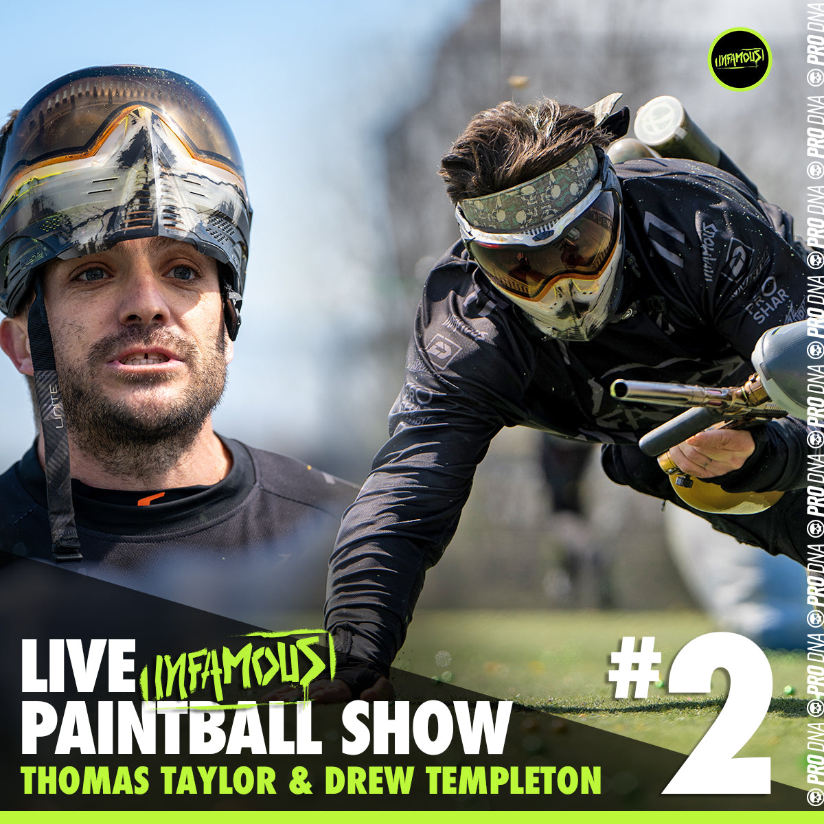 Infamous Live Paintball Show #2