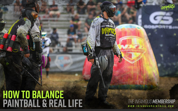 HOW TO BALANCE PAINTBALL & REAL LIFE