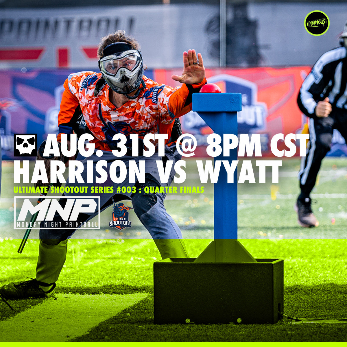 Monday Night Paintball - Harrison Frye vs Andrew Wyatt