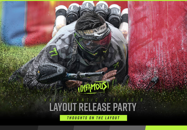 NXL Atlantic City 2018 Layout Release - Infamous Paintball