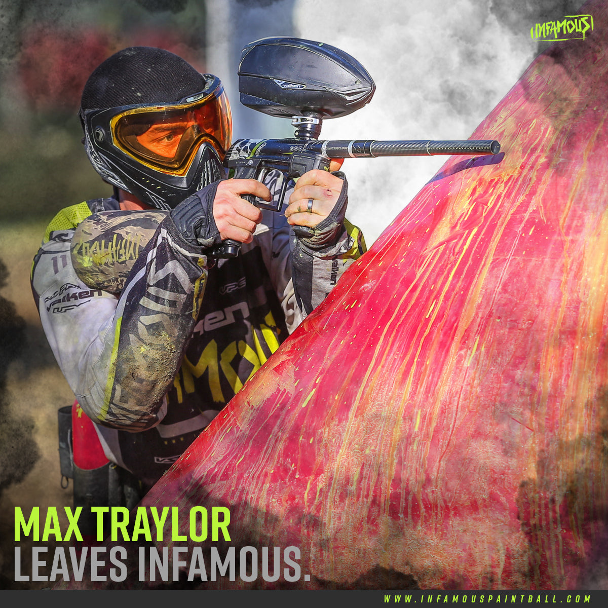 MAX TRAYLOR LEAVES INFAMOUS