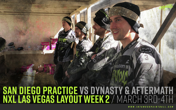 Practice VS Dynasty & Aftermath / March 3rd-4th NXL Las Vegas