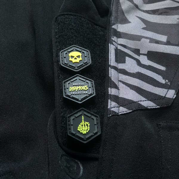 Paintball Pants with a Velcro Patch Panel!
