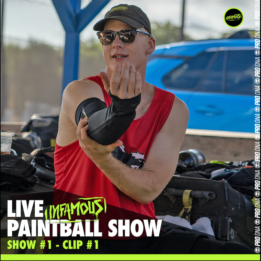 PRO DNA PROTECTION - Infamous Live Paintball Show #1 (Clip)