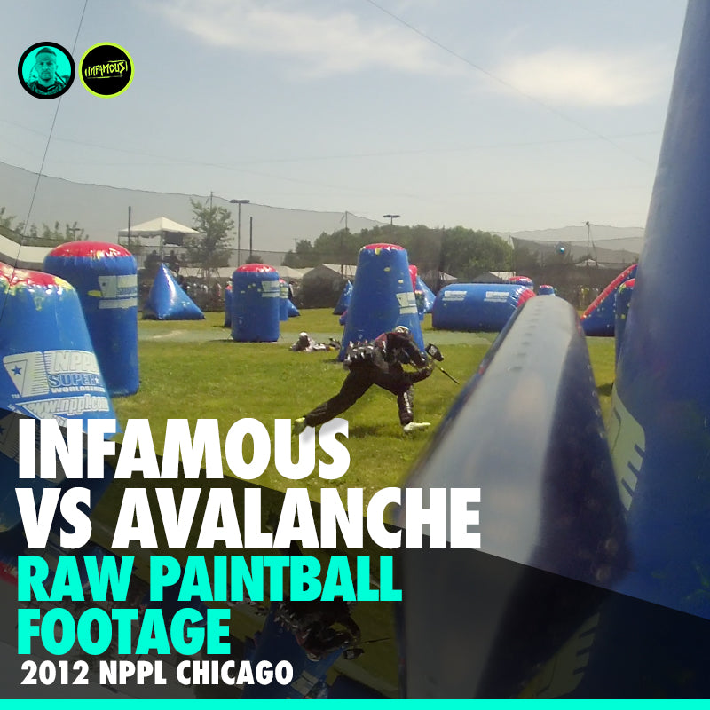 NPPL Chicago Open 2012 Raw Footage from Avalanche Match