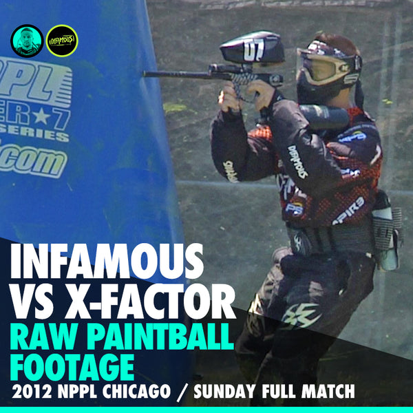 Kali Barrel Cam Footage x NPPL Chicago 2012 x Sunday Paintball vs X-Factor