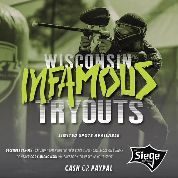 Wisconsin Infamous Tryouts