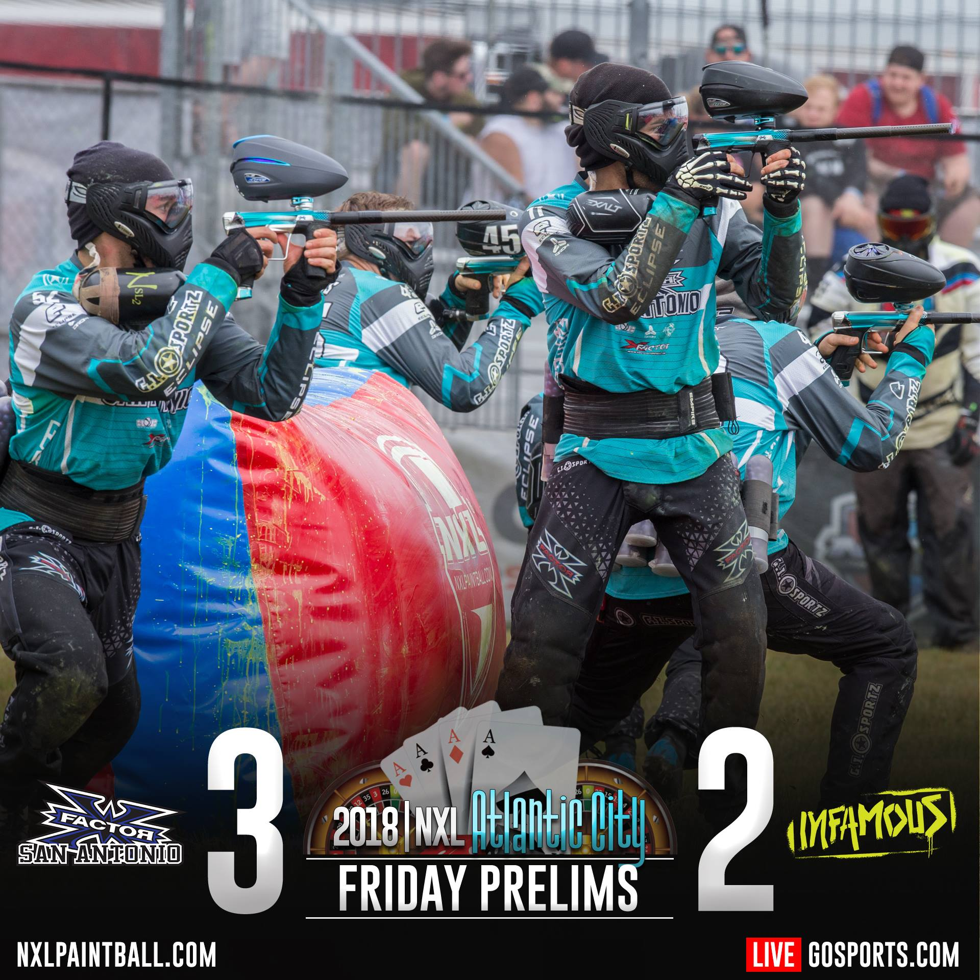 Infamous vs X-factor NXL Atlantic City 2018