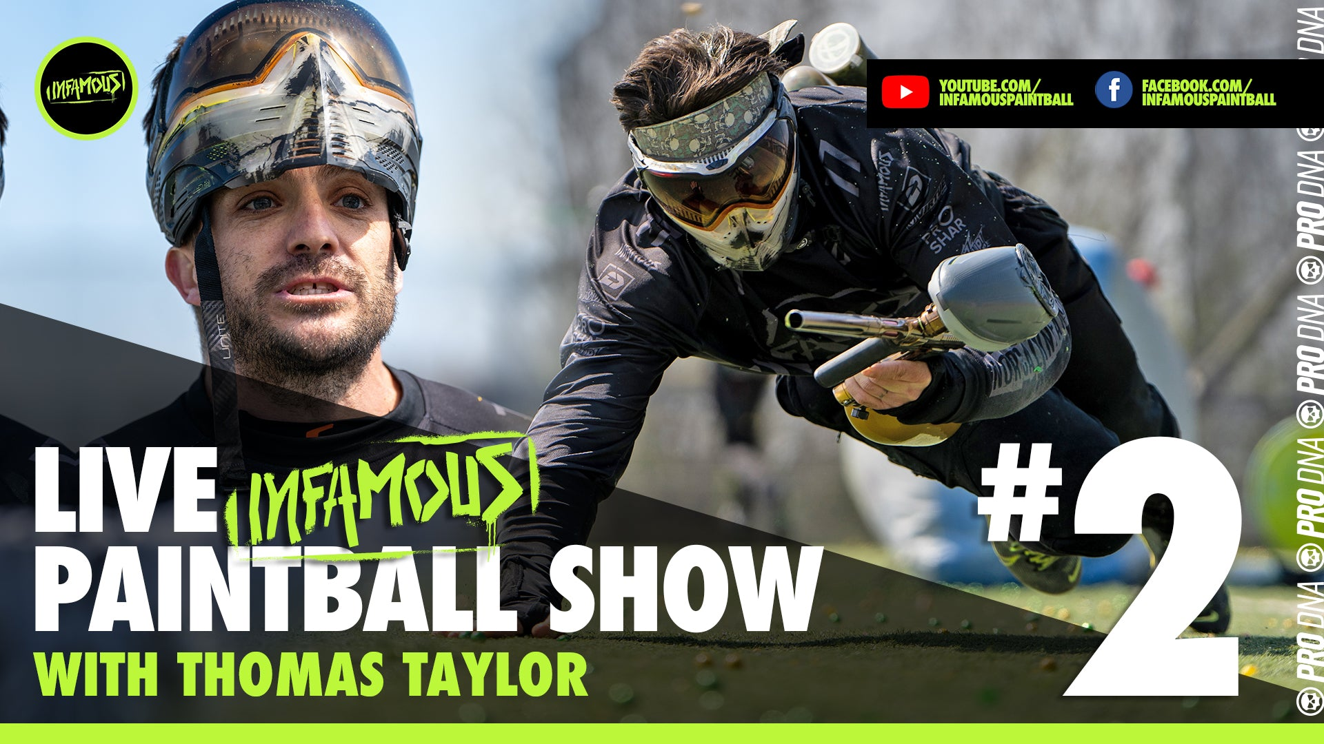 infamous live paintball show Thomas Taylor Kevin Rudulph drew Templeton Greg Siewers