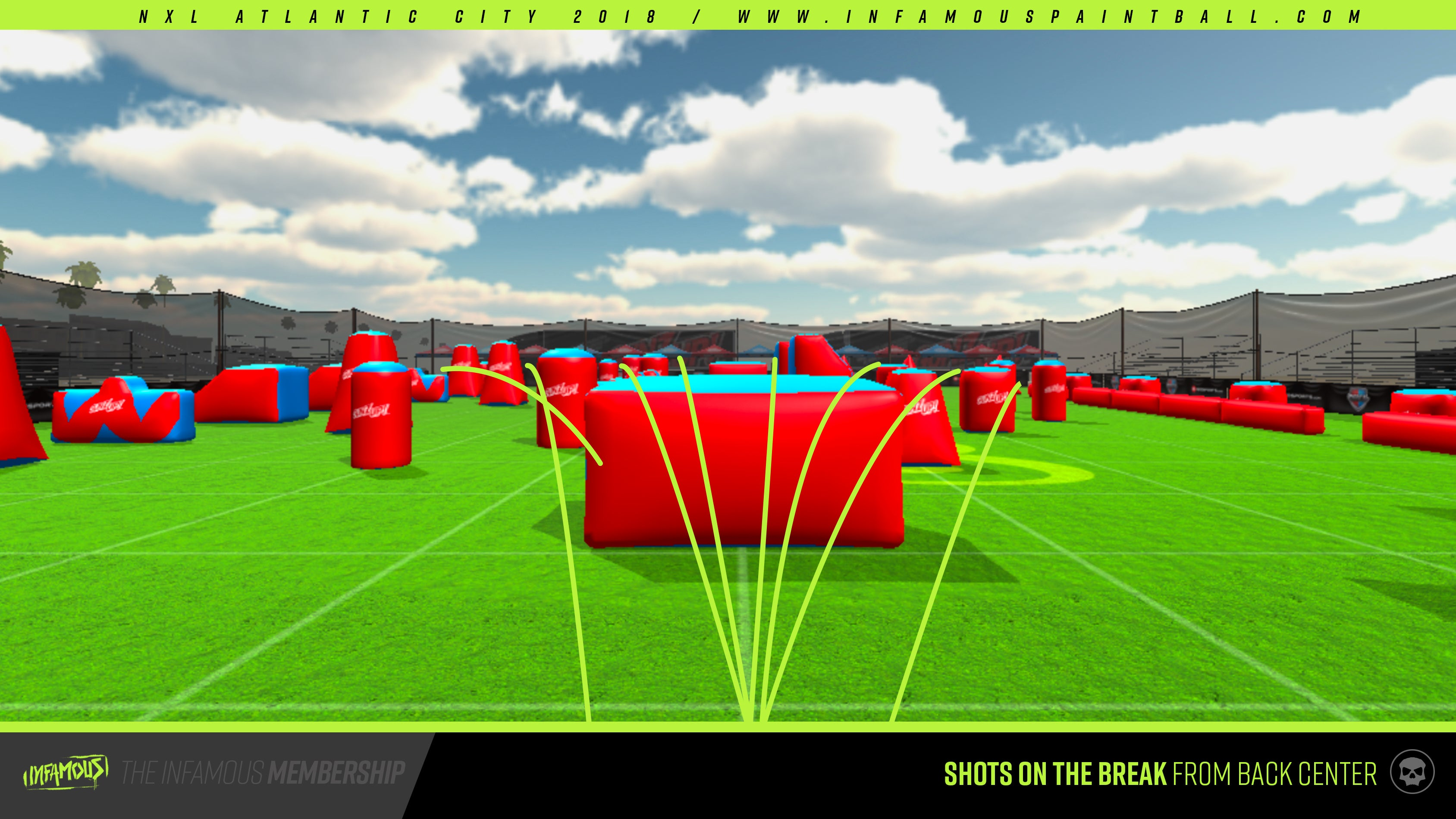 nxl atlantic city 2018 layout release infamous paintball