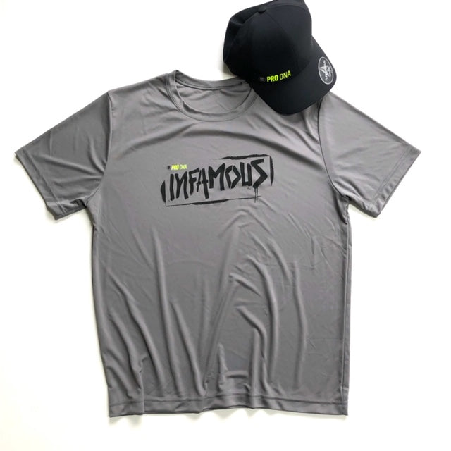 Infamous PRO DNA Dry-Fit Performance Short Sleeve Tee