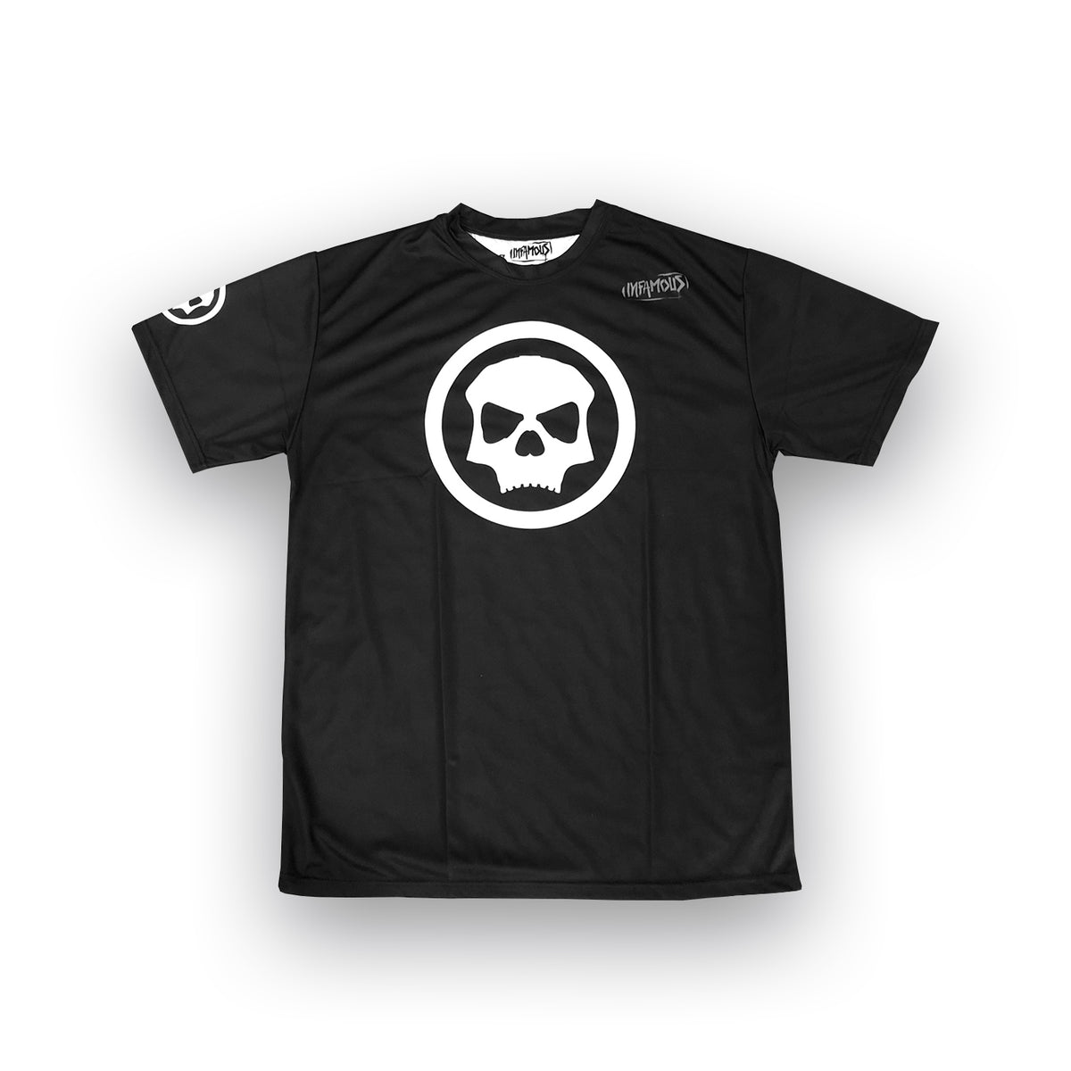 Infamous DryFit Tech T-Shirt - Loyalty Black/White