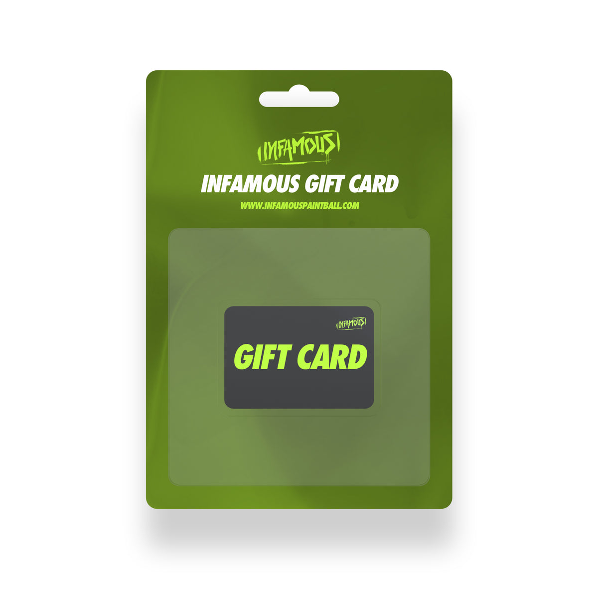 Infamous Paintball Gift Card