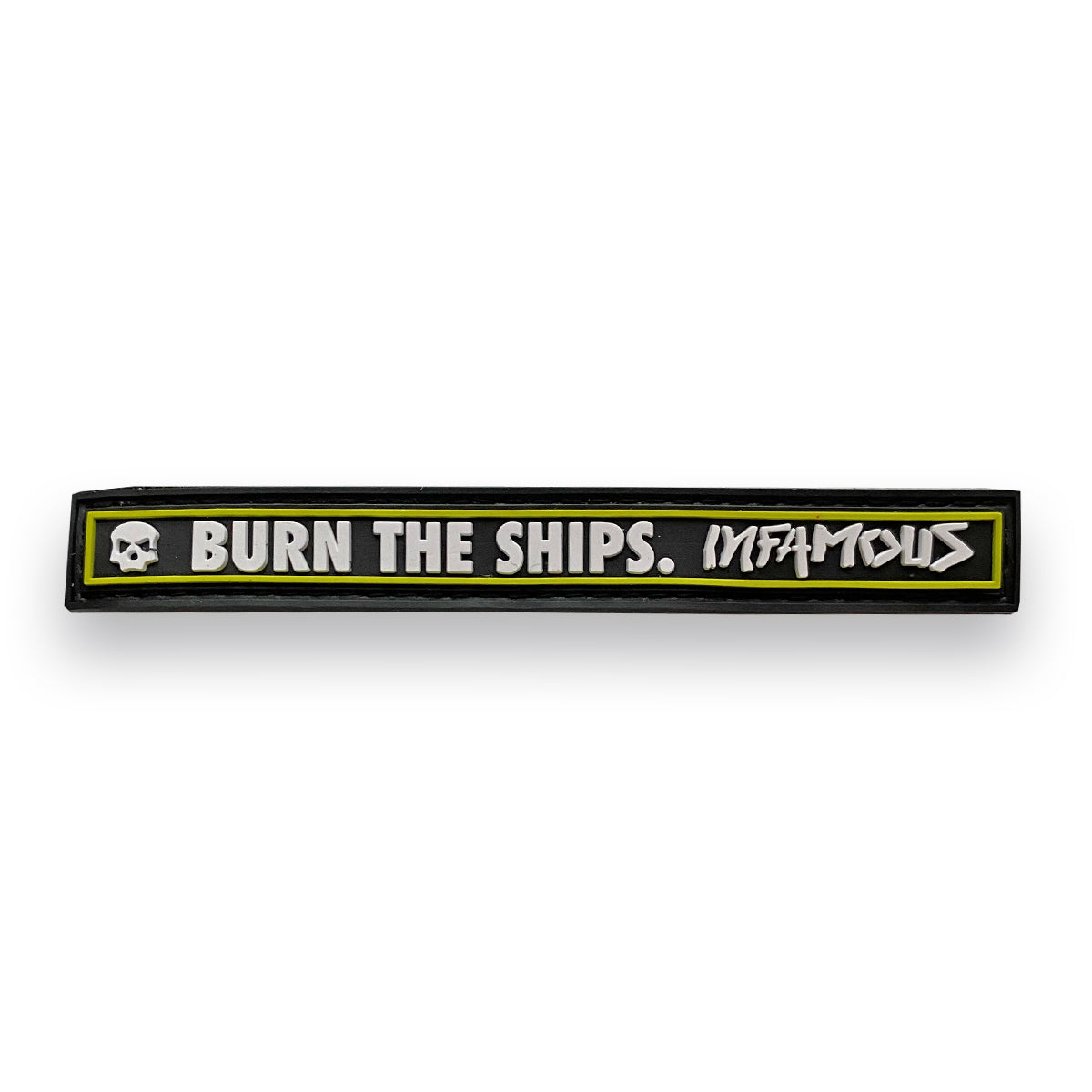 Burn The Ships Long Patch - Black Volt