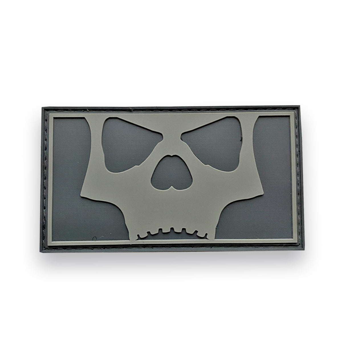 Icon Skull Full Patch - Grey