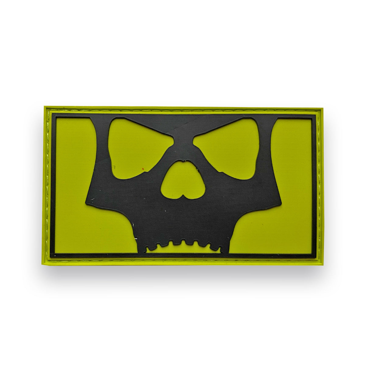 Icon Skull Full Patch - Volt Black