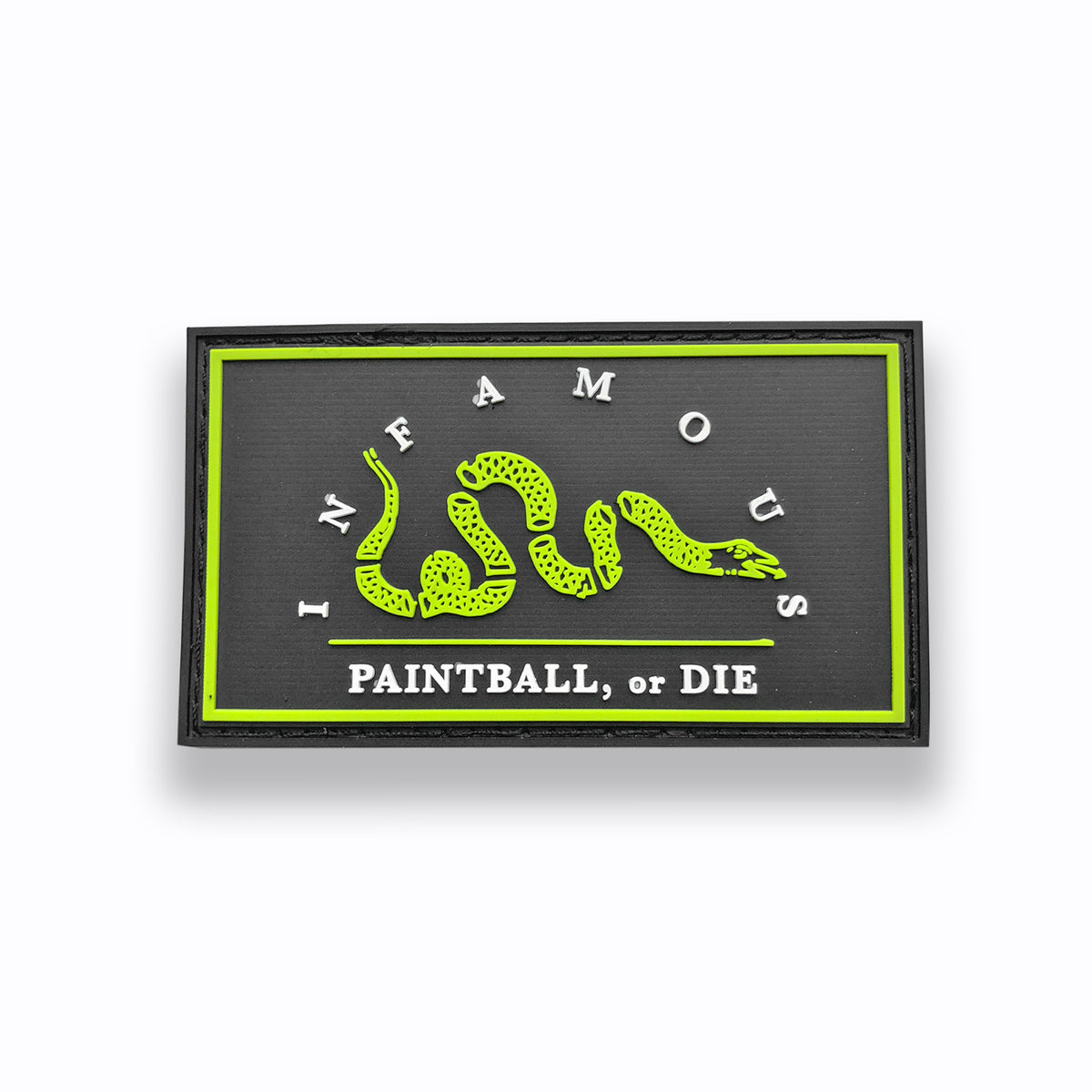 Paintball or Die Infamous Paintball Patch (3.5x2)