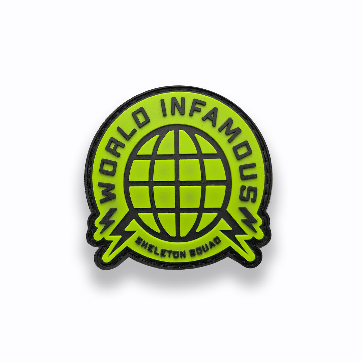World Infamous Circle Paintball Patch (2x2)