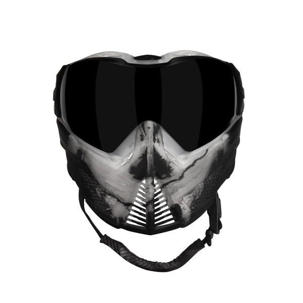 Infamous Ghost Skull Le Unite Push Goggle Infamous Paintball