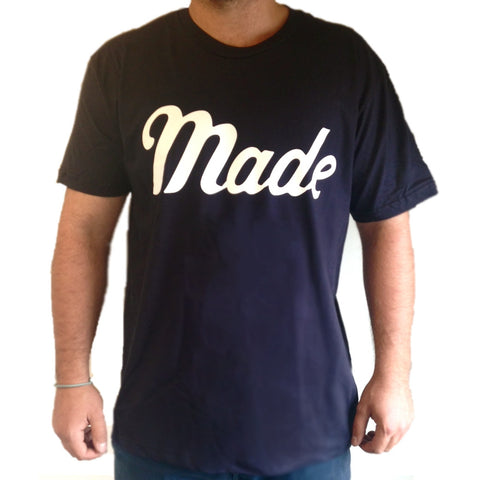 Made T-Shirt (Navy)