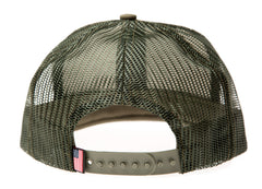 Army Green Trucker Hat (with Velcro patch)
