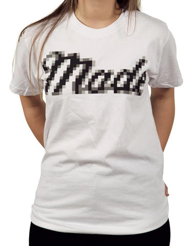 Made Low Rez T-shirt - White