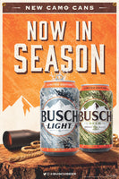 Busch Busch Light Season Open Banner 2' x 3'