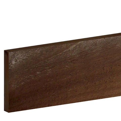 "Brown fence Board 1.8m x 150 x 16mm (6' x 6"")"