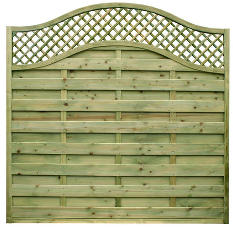 Neris Modern Fence Panel 1.8m x 1.8m