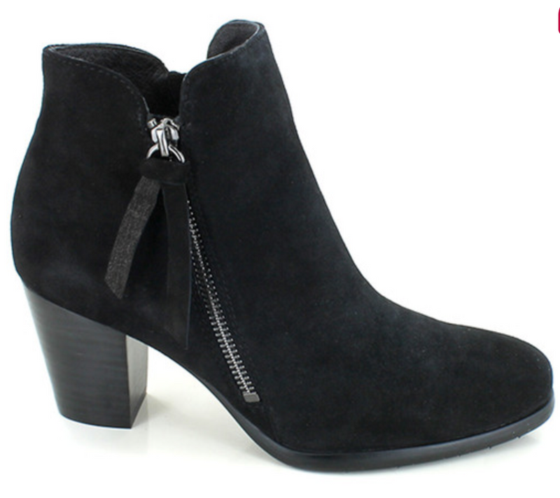 Leather Bootie-Kimy