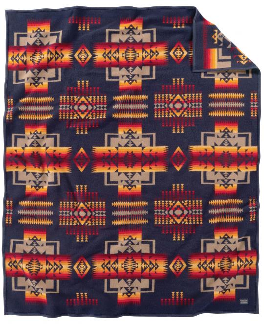 Pendleton Blanket Chief Joseph Indigo