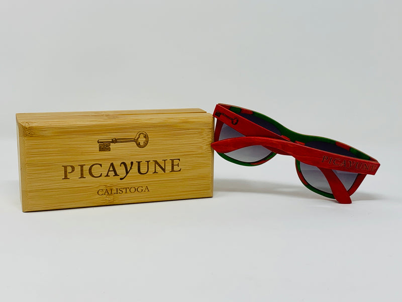 Picayune Sunglasses Red Skateboard