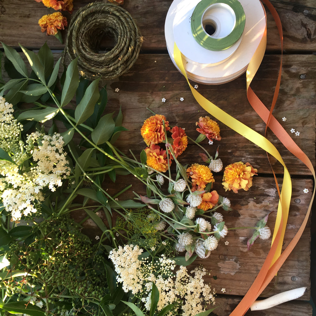 Farm Flower crafting workshop with Heidi & Muriel, Sunday March 17th
