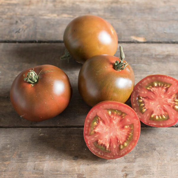 Black Prince medium sized tomato