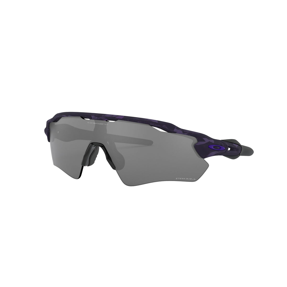 Oakley Radar EV Path Sunglasses Matte Shadow Camo Electric Purple Prizm Black Lens