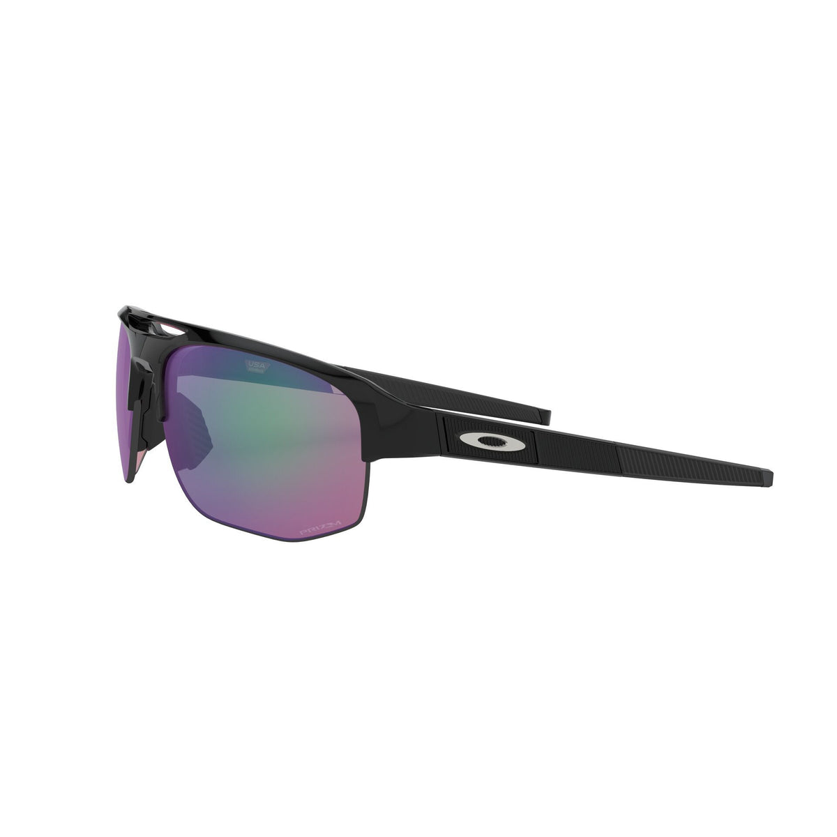 Oakley Mercenary Polished Black Prizm Lens Golf