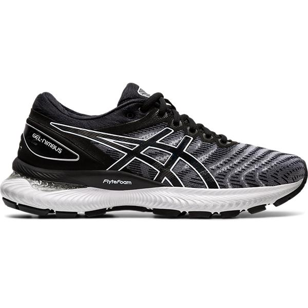 Asics Gel Nimbus 22 Women White/Black (2E)