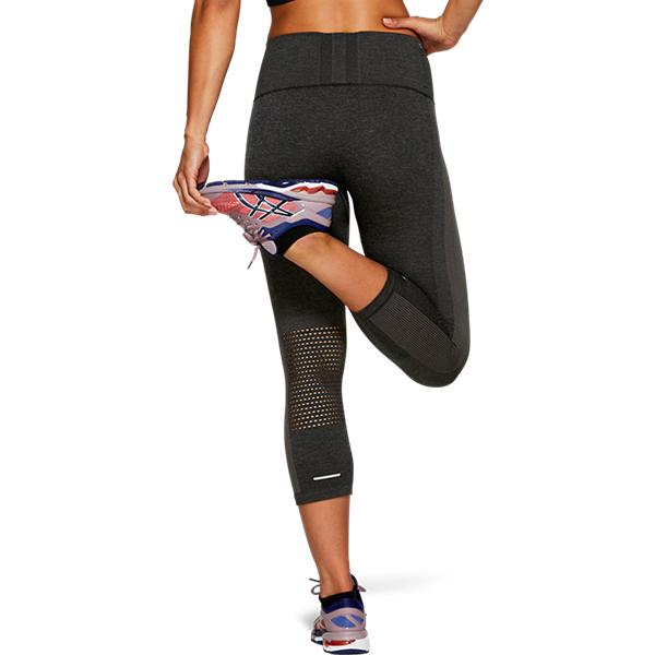 Asics Cooling Seamless Capri Tights Black