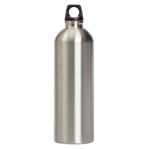 Puma Stainless Steel Water Bottle Silver