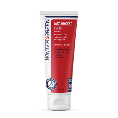 Wintergreen Hot Muscle Cream - 75ml