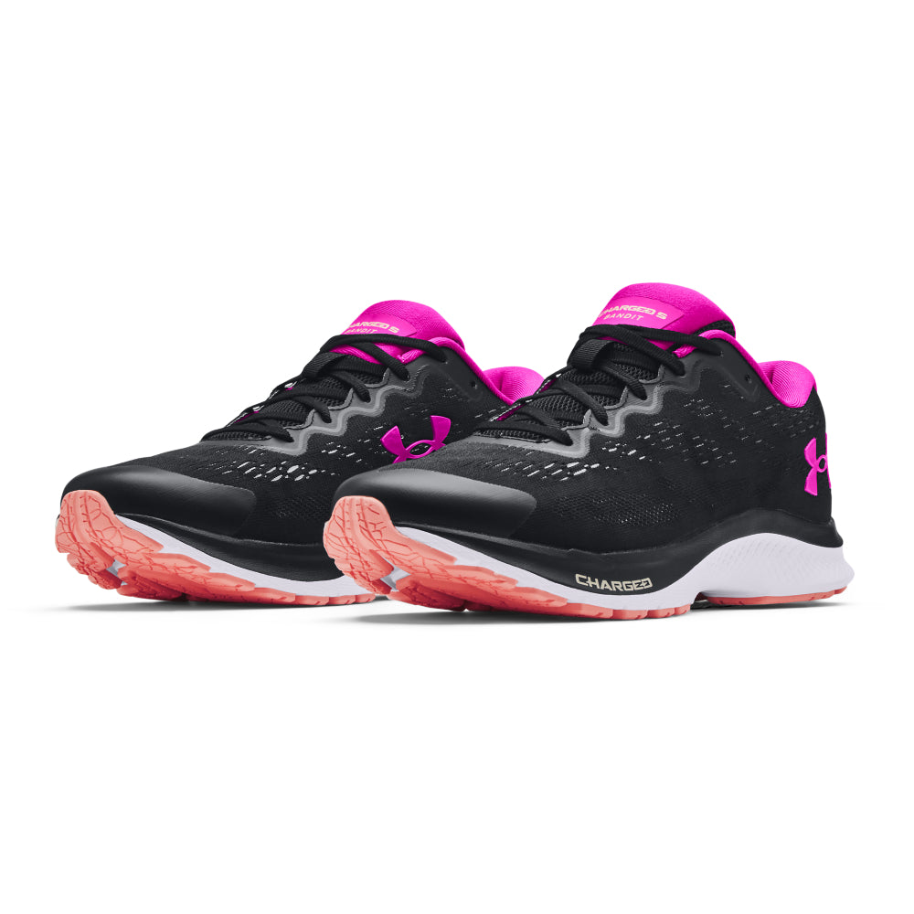 Under Armour Charged Bandit 6 Black Noir Women