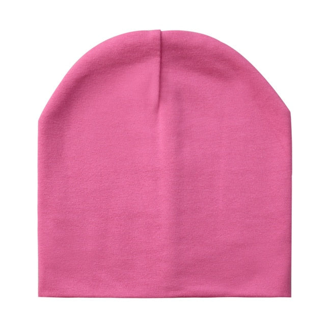 Baby Hats Cotton Solid Color Baby Cap Children's Beanie Hat For Boys And Girls Kids Boys Winter Hat