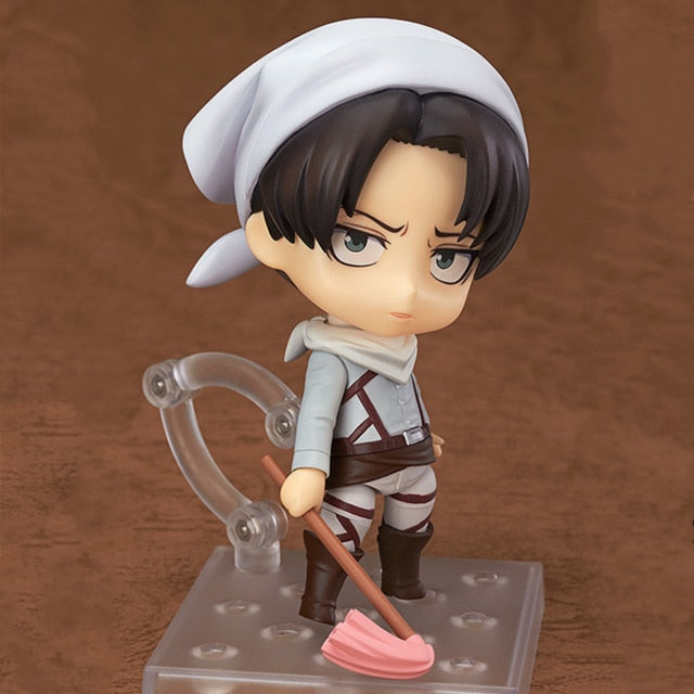 Attack on titan anime cartoon toy figure.