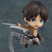 Load image into Gallery viewer, Attack on titan anime cartoon toy figure.