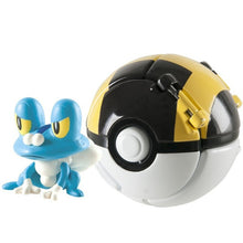 Load image into Gallery viewer, Pokemon action figure with pokeball toys for kids.