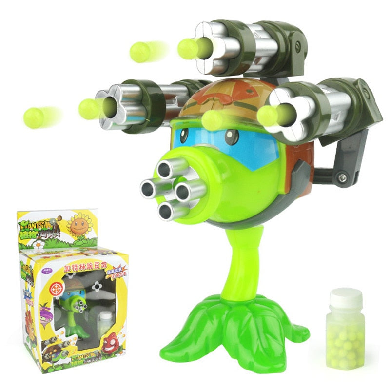 Plant vs Zombie shooting toy for kids.