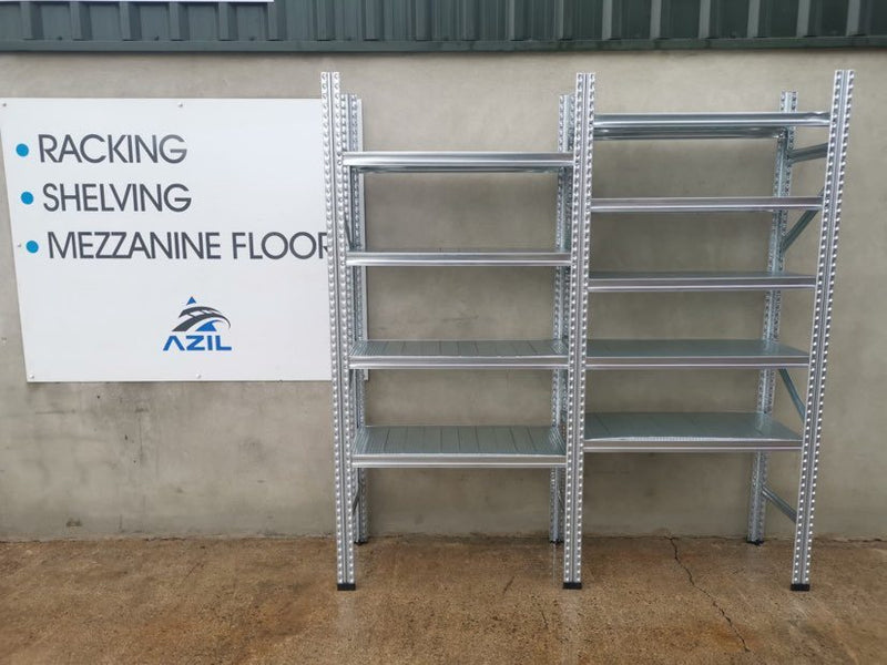New Galvanised Shelving
