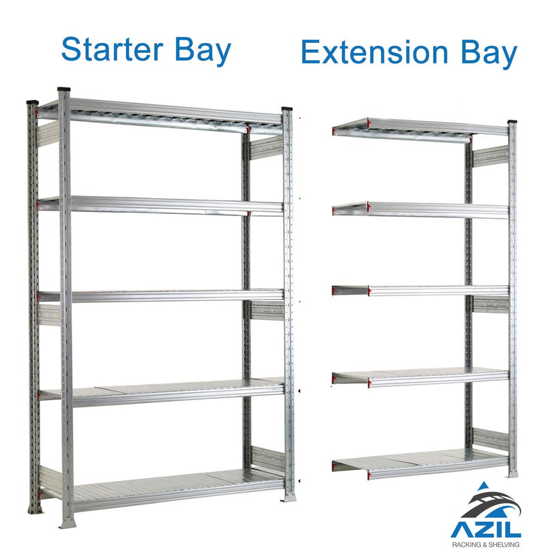 Galvanised Boltless Shelving
